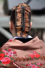 Mujer Vestida Tradicional