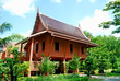 Leinwandbild Motiv Thai house