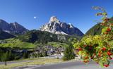 Fototapety Panorama über Corvara