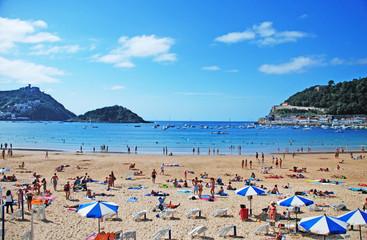 San Sebastian's Beach.