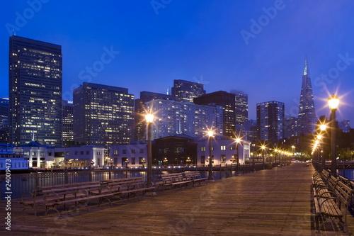 San Francisco Pier at Night