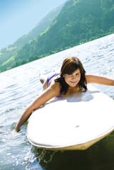 Entspannen am Surfbrett