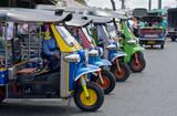 Fototapety tuk tuks in bangkok