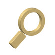 """Search"" symbol (online internet web magnifying glass icon)"