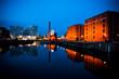 Albert Dock liverpool at night - 24024415