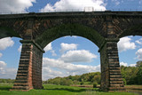 viaduct over River Weaver valley poster