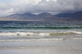 """Beach and hills, Rosamol, Isle of Harris"""
