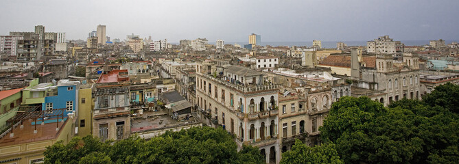 """Cityscape of Havana, Cuba"""