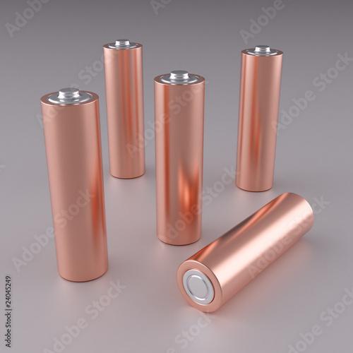 Copper AA batteries - 24045249