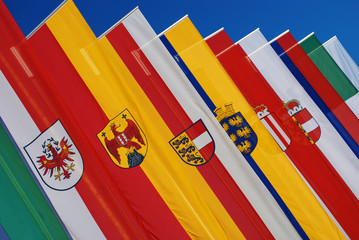 Flags of  Austrian states