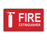 Pegatina FIRE EXTINGUISHER