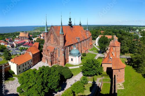 Fototapeta Cathedral in Frombork, Poland