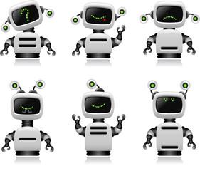 Cute Robot Set