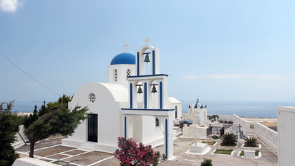 Santorini, Greece Church