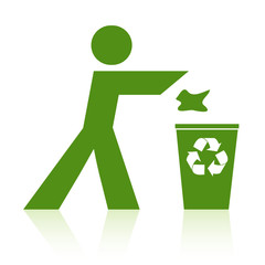 Recycle Action Sign