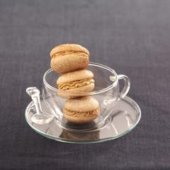 coffee macaroons