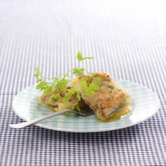 crunchy foie gras and chanterelle pannequets