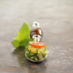 citrus fruit tabbouleh