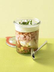 summer aspic verrine