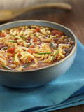 fish and pasta soup
