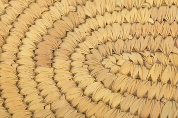 abstract texture of straw
