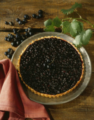 blackcurrant tart