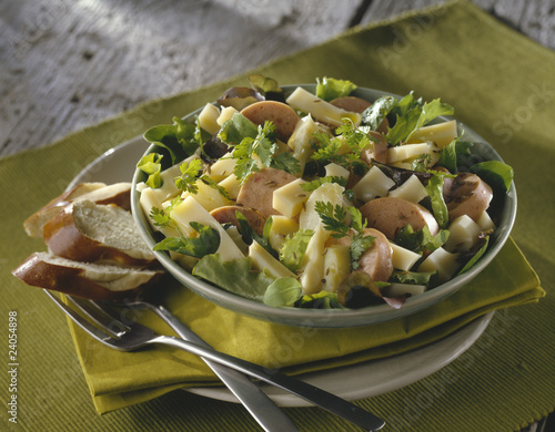 alsation emmental salad