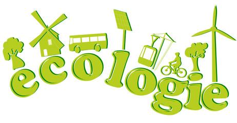 ecologie texte avec icones