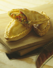 individual vegetable pies