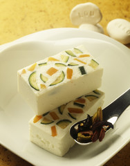 feta and vegetable terrine