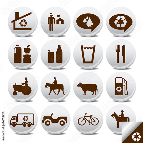 Vector icons pack- farm life