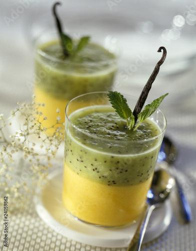 mango-kiwi juice