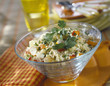 seafood and fresh herb tabbouleh