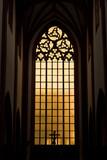 Fototapety Gotyckie okno