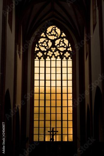 Gotyckie okno