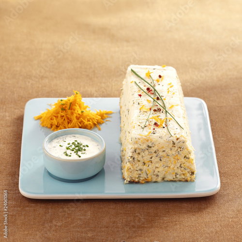 fish and fine herb terrine