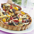 southern vegetable tart