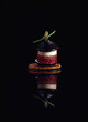 caramelized fig mille-feuille