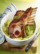 roast loin of pork stuffed à la montbéliarde