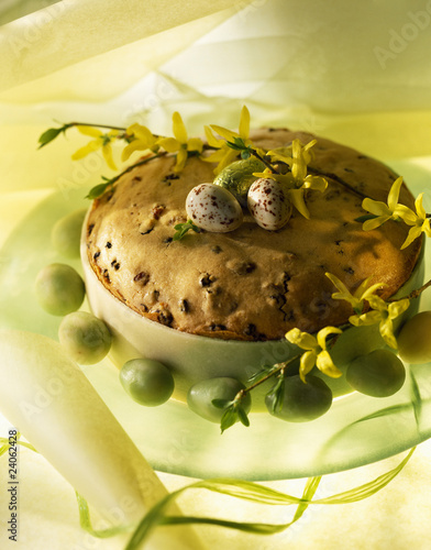 easter almond paste cake