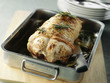 oven-baked roast pork with rosemary