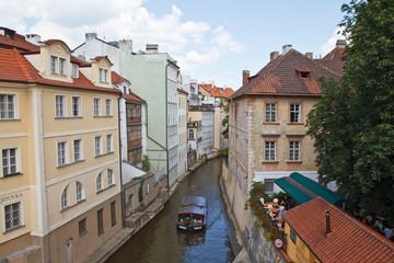 Canale della Moldava a Praga