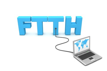 Wired to FTTH - Fibre to the Home