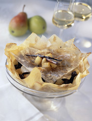 pastis from gascogne with pears