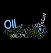 Oil Spill word collage