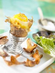 boiled egg potato