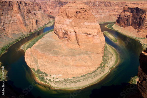 Horseshoe Bend in Northern Arizona USA