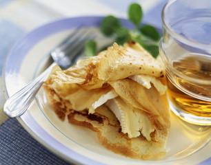 camembert crepe