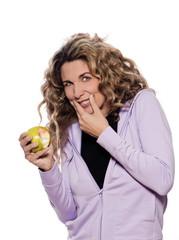 Woman Portrait gingivitis