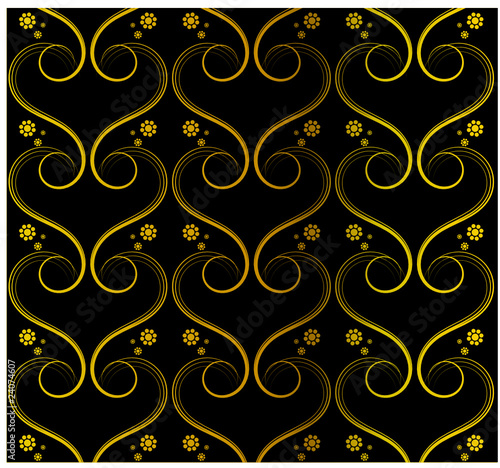 Tapete schwarz gold stock image and royalty free vector - Tapete schwarz gold ...